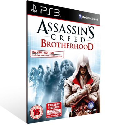 Assassins Creed Brotherhood Ultimate Edition - Ps3 Psn Midia Digital