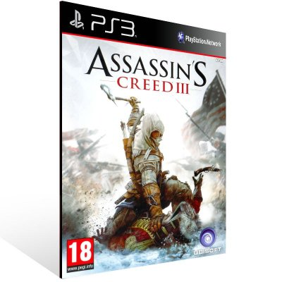 Assassins Creed 3 - Ps3 Psn Mídia Digital