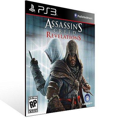 Assassins Creed Revelations - Ps3 Psn Midia Digital