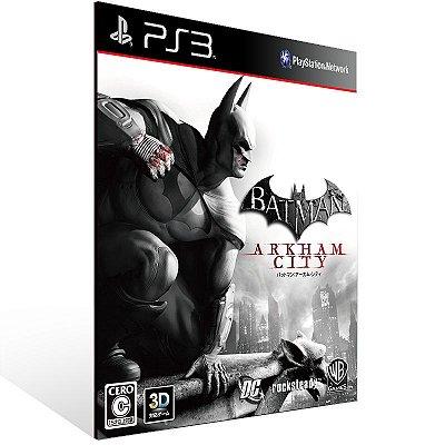 Batman Arkham City - Ps3 Psn Midia Digital