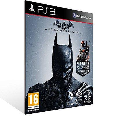 Batman Arkham Origins - Ps3 Psn Midia Digital