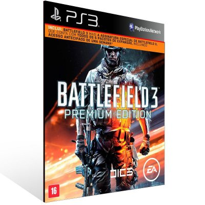 Battlefield 3 Premium Edition - Ps3 Psn Midia Digital