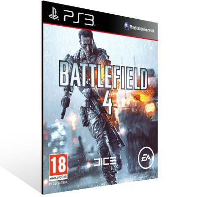 Battlefield 4 - Ps3 Psn Midia Digital