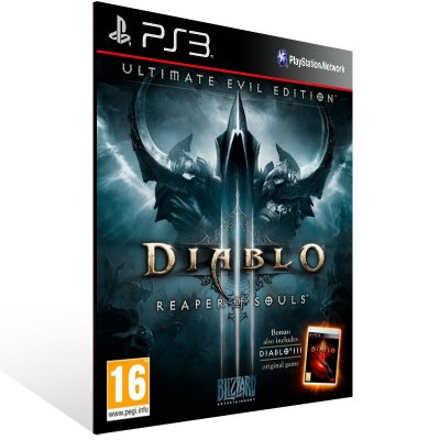 Diablo 3 Reaper Of Souls Ultimate Evil Edition (Inglês) - Ps3 Psn Mídia Digital