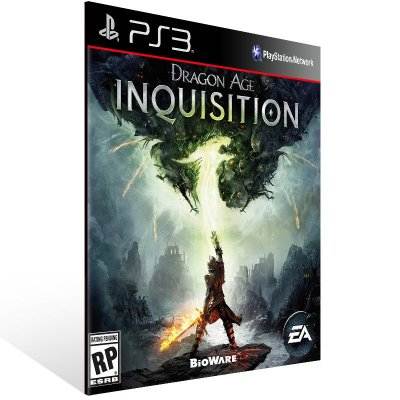 Dragon Age Inquisition - Ps3 Psn Mídia Digital