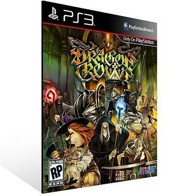 Dragons Crown - Ps3 Psn Mídia Digital