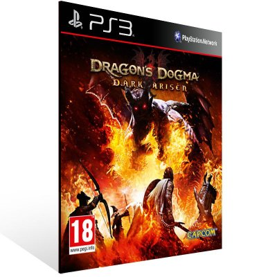 Dragons Dogma Dark Arisen - Ps3 Psn Mídia Digital