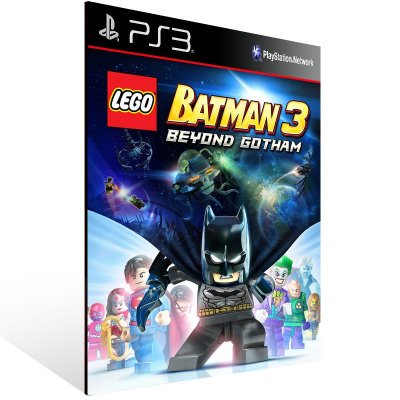 Lego Batman 3 Beyond Gotham - Ps3 Psn Mídia Digital