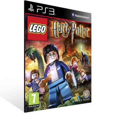 Lego Harry Potter Years 5 7 - Ps3 Psn Mídia Digital