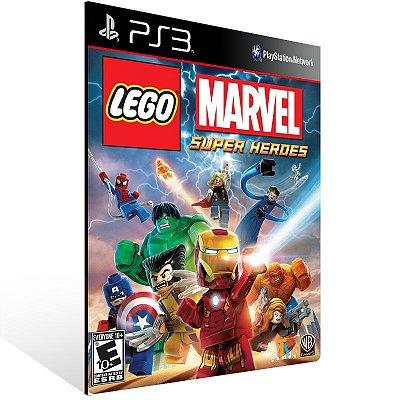 Lego Marvel Super Heroes - Ps3 Psn Mídia Digital