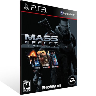 Mass Effect Trilogy - Ps3 Psn Mídia Digital