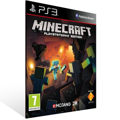 Minecraft - Ps3 Psn Mídia Digital