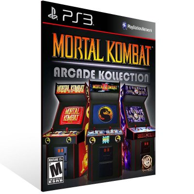 Mortal Kombat Arcade Kollection - Ps3 Psn Mídia Digital