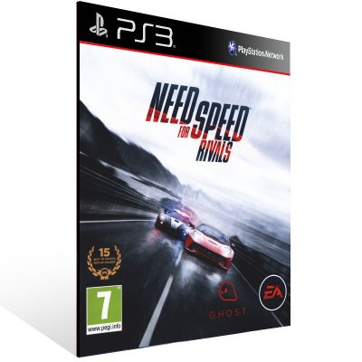 Need For Speed Rivals - Ps3 Psn Mídia Digital
