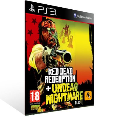 Red Dead Redemption + Undead Nightmare - Ps3 Psn Mídia Digital
