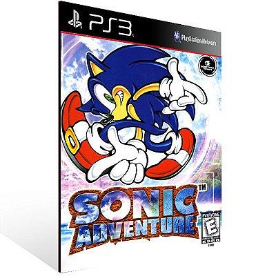 Sonic Adventure - Ps3 Psn Mídia Digital