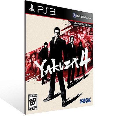 Yakuza 4 - Ps3 Psn Mídia Digital