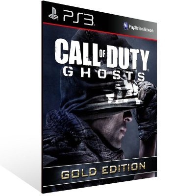 Call Of Duty Ghosts Gold Edition - Ps3 Psn Mídia Digital