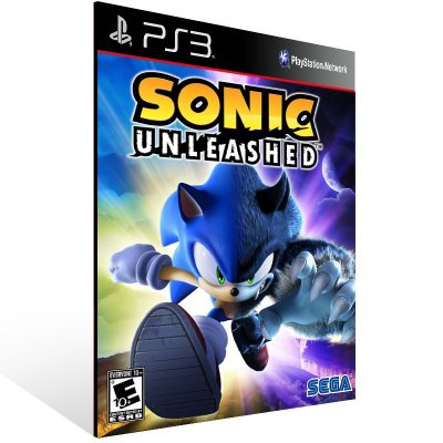 Sonic Unleashed - Ps3 Psn Mídia Digital