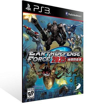 Earth Defense Force 2025 - Ps3 Psn Mídia Digital