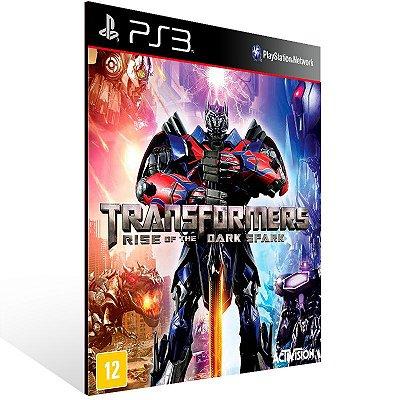 Transformers Rise Of The Dark Spark - Ps3 Psn Mídia Digital