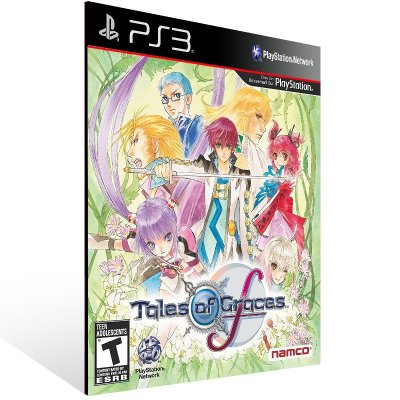 Tales Of Graces F - Ps3 Psn Mídia Digital