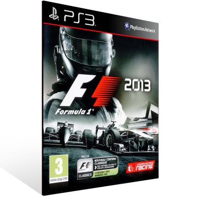 F1 2013 - Ps3 Psn Mídia Digital