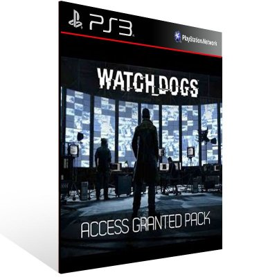 Watch Dogs Access Granted Pack - Ps3 Psn Mídia Digital