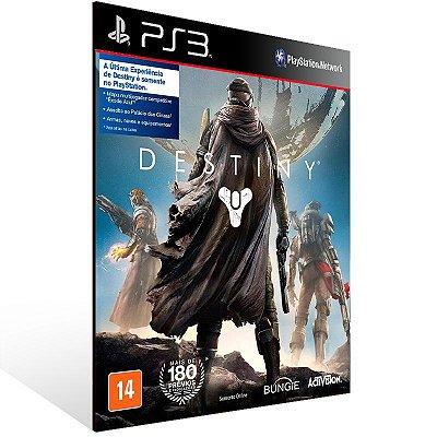 Destiny - Ps3 Psn Mídia Digital