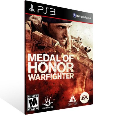 Medal Of Honor Warfighter - Ps3 Psn Mídia Digital