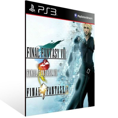 Combo Final Fantasy 7 8 9 - Ps3 Psn Mídia Digital