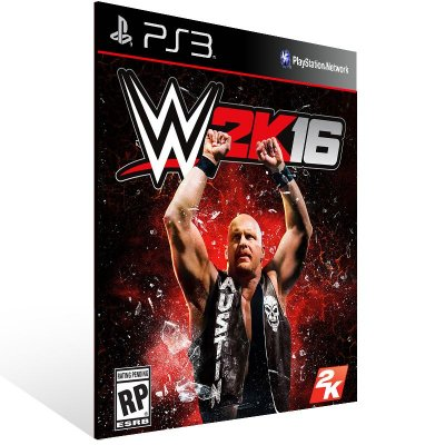 Wwe 2K16 - Ps3 Psn Mídia Digital