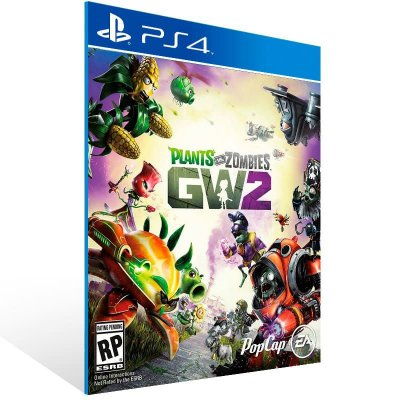 Plants Vs Zombies Garden Warfare 2 Standard Edition - Ps4 Psn Mídia Digital