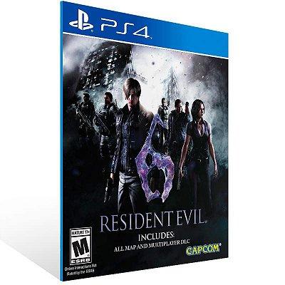 Resident Evil 6 - Ps4 Psn Mídia Digital