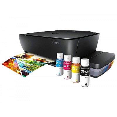 Impressora Multifuncional HP Deskjet GT 5822 Bulk Ink / Tanque de Tinta de Fabrica