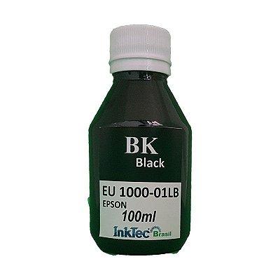 Tinta Inktec Epson EU1000-01LB Preta Corante 100ml
