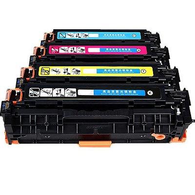 Kit 4 Toner HP 410A Compatível M452DW M452DN M477FDW M477FNW M477FDN