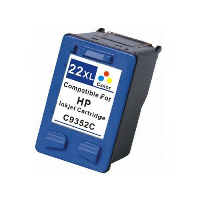 Cartucho Hp 22 Colorido Compativel 14ml | C9352A 22XL 3920 J3680 F380 D2360