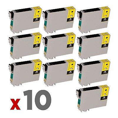 Kit 10 Cartuchos Epson T117120 Preto 15ml no Atacado T117 T23 TX105 TX115