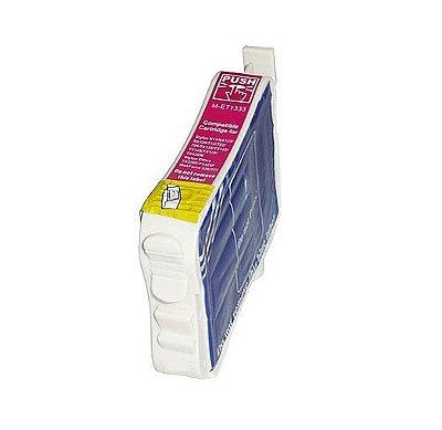 Cartucho Epson 133 T133320 Magenta Compativel 15ml T25 TX125 TX235 TX320F TX420