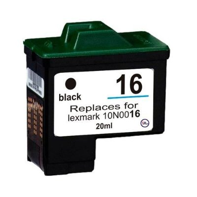 Cartucho Lexmark 16 / 17 Preto Compativel 20ml Z23 Z25 X1100
