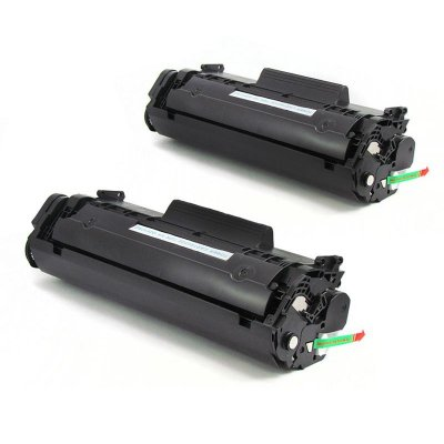 Kit com 2 Toner Hp 12a Compativel Hp Q2612A Laserjet 1010 1018 1020 1022