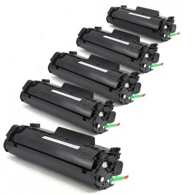 Kit 5 Toner Hp Q2612a Compativel no Atacado