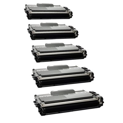 Kit com 5 Toner Brother TN450 Compativel TN-450 DCP7065 MFC7360 HL2240