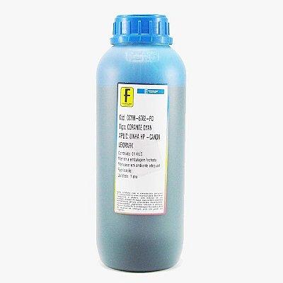 Tinta Formulabs HP Canon Lexmark IJD6762 Ciano | Azul Corante para Hp 1 Litro