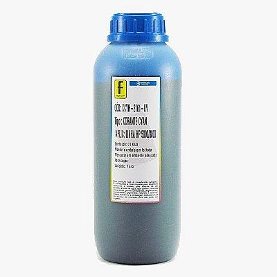 Tinta Formulabs HP Serie 8000 Corante Especifica IJD2761 Ciano 1 Litro