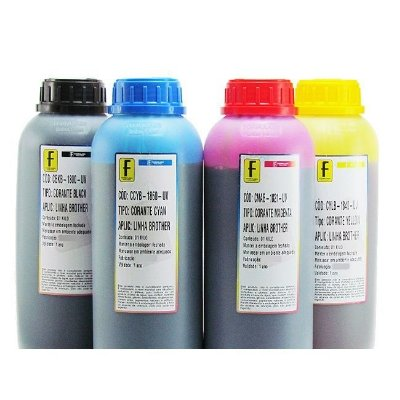Kit 4 Litros de Tinta Formulabs Brother Premium 1 Litro de Cada Cor