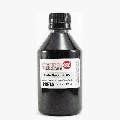 Tinta Formulabs Epson EPS7400 Preta Corante UV 250ml