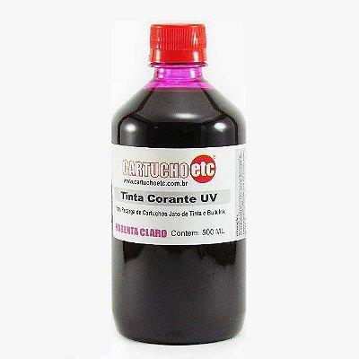 Tinta Formulabs Epson EPS4821 Magenta Claro Corante UV 500ml