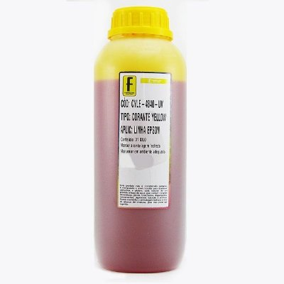 Tinta Formulabs Epson EPS4841 Amarela Corante UV 1 Litro